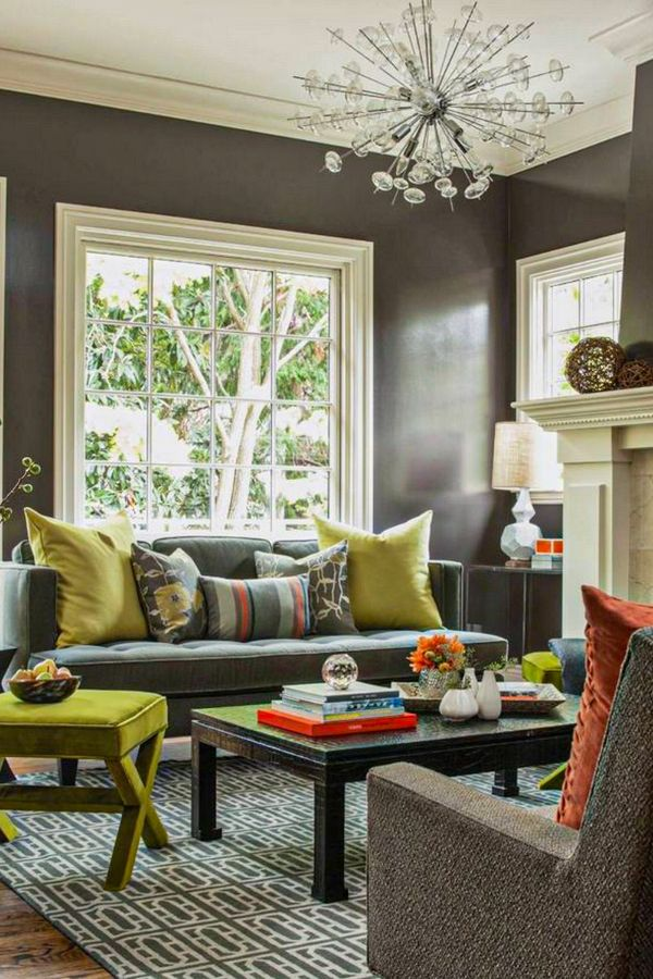 44+ Fabulous Grey Living Room Designs ideas and Accent ...