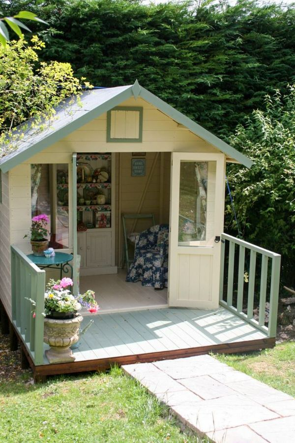 51+ Lovely and Cute Garden Shed Design ideas for Backyard ...